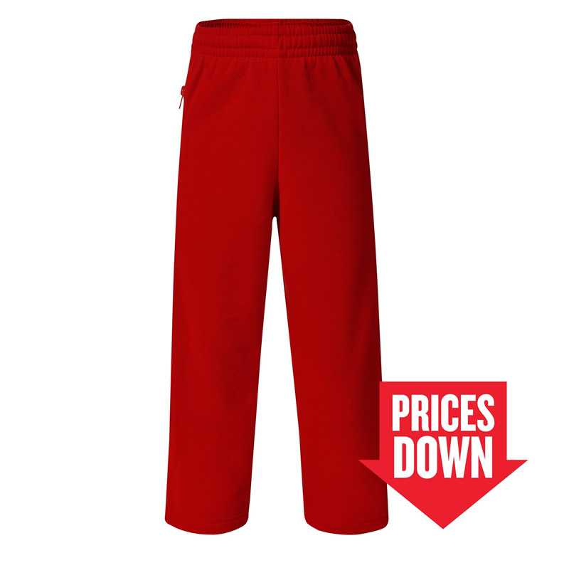 1310SL Boyle Fleecy Straight Leg Track Pants