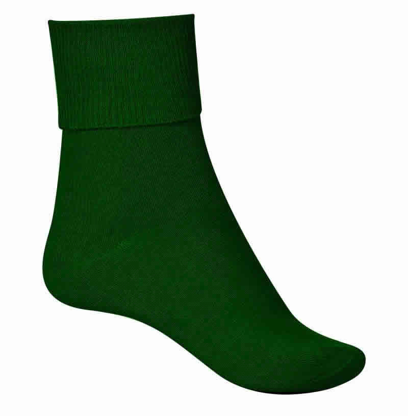 4190TT Howitt Ankle Socks with Turnover Tops