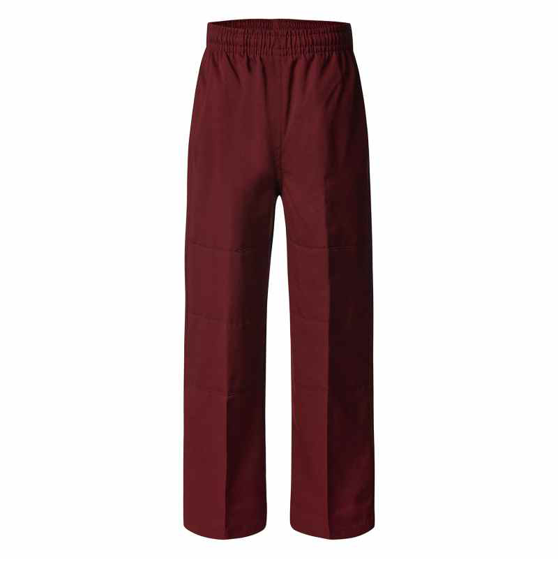 4805DK Deniehy Gabardine Long Pants with Double Knee