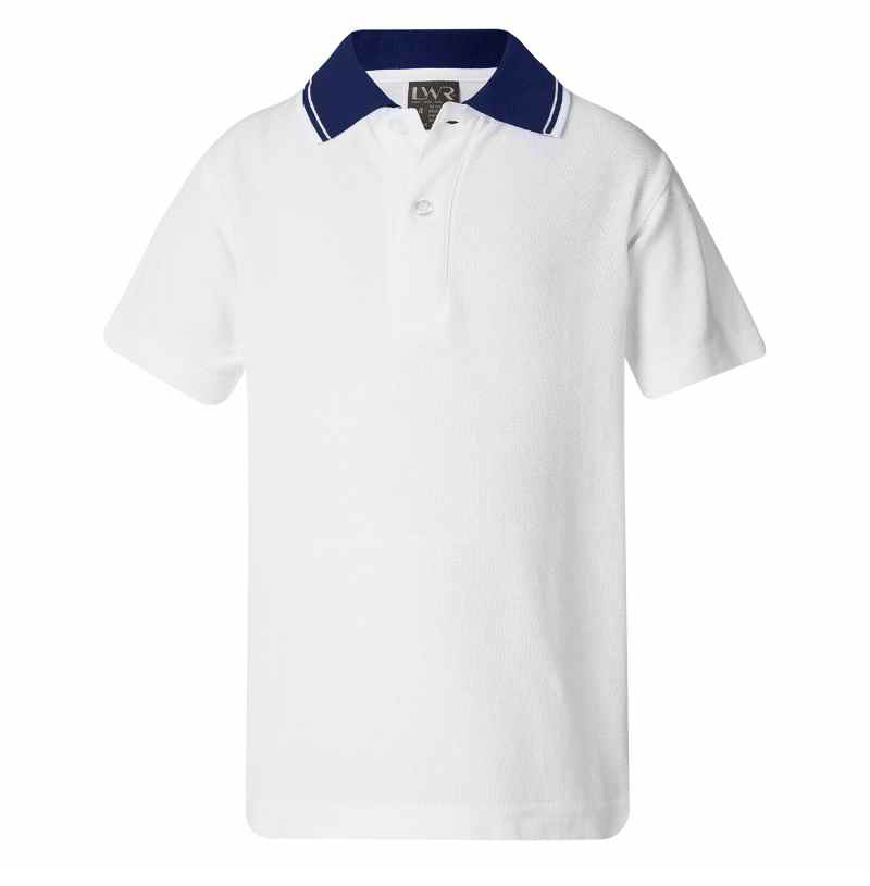 5220A4 Johnston Classic Twin Stripe Polo - Short Sleeve