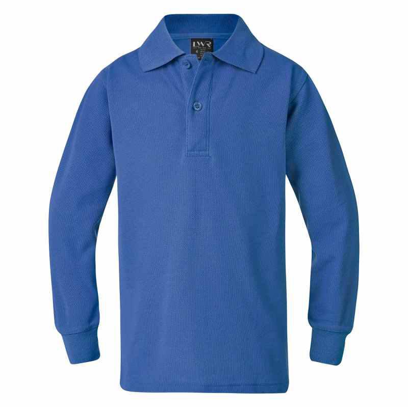 5220LS Lord Classic Plain Polo - Long Sleeve