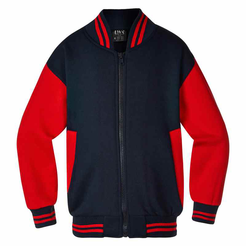 5310BJ Bannerman Zip Baseball Jacket