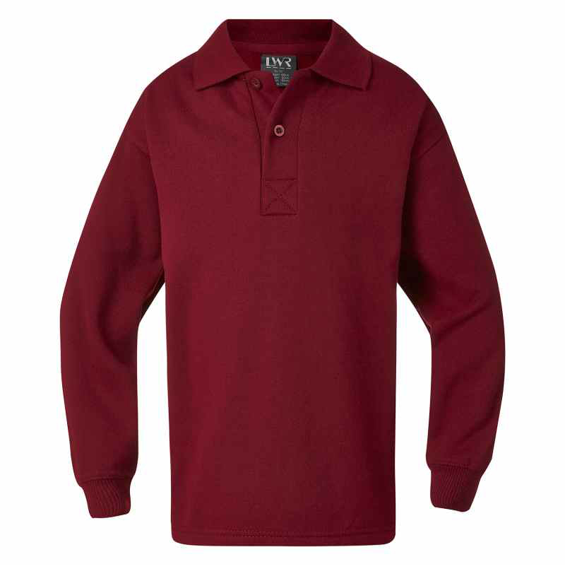 5310WA Oxley Fleecy Polo Neck Sweat Shirt