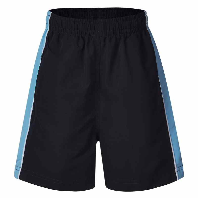 5338PS Mueller Microfibre Shorts with Contrast Panel