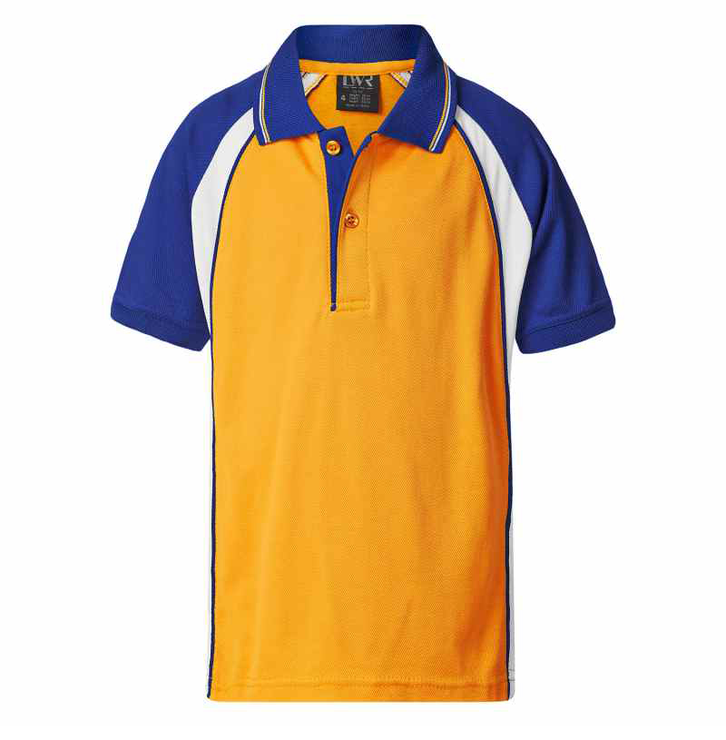 5760FP Craig Raglan Panel Sports Polo