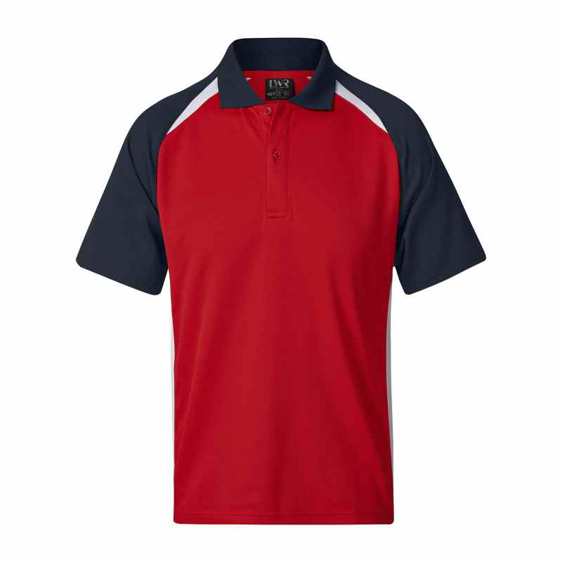 5760SP Poidevin Raglan Sports Polo