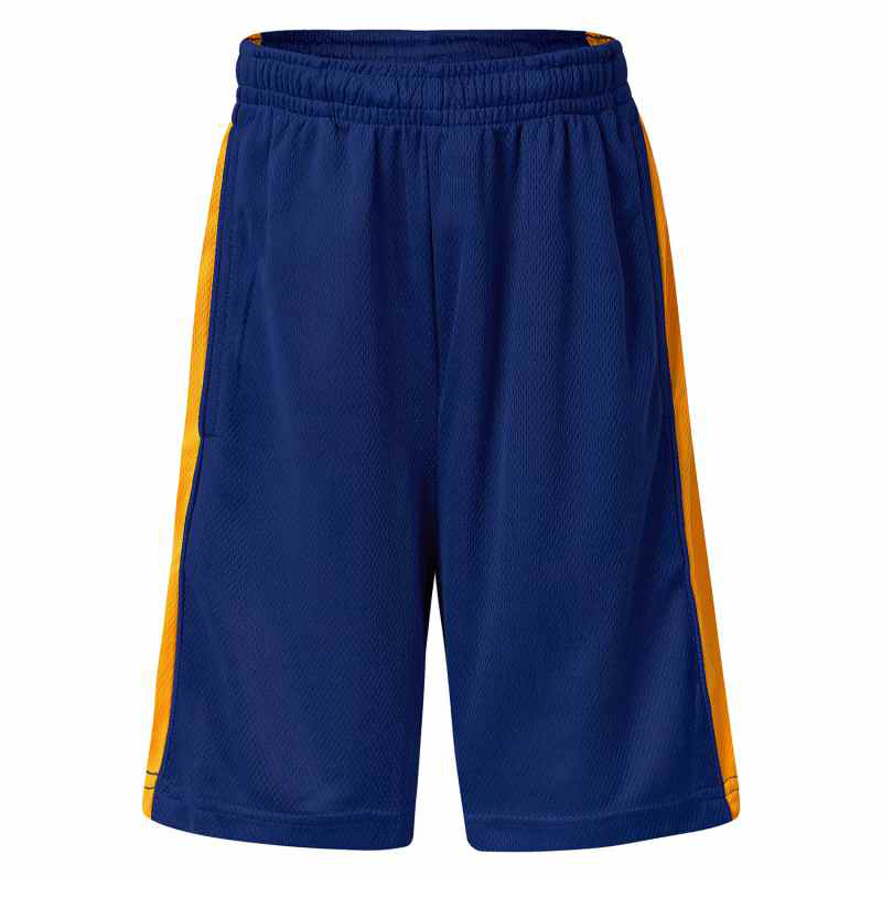 5910PS Worall Micro Mesh Shorts with Contrast Panel