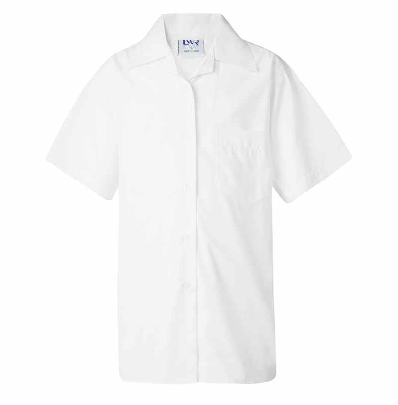G3855 Dexter Short Sleeve School Blouse