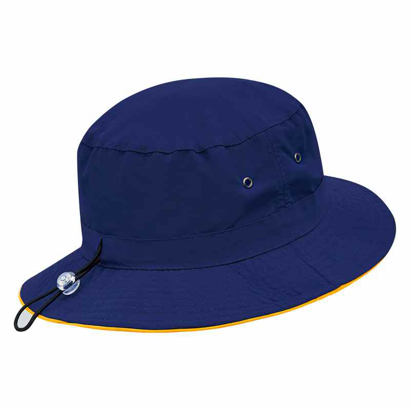 T4331B Burke Microfibre Bucket Hat with Trim